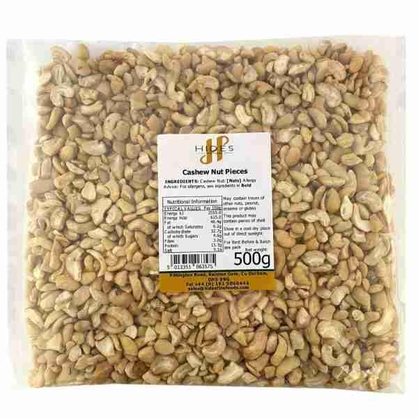 Cashew nut pieces 500g