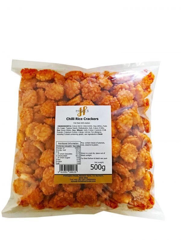 Chilli Rice Crackers 500g