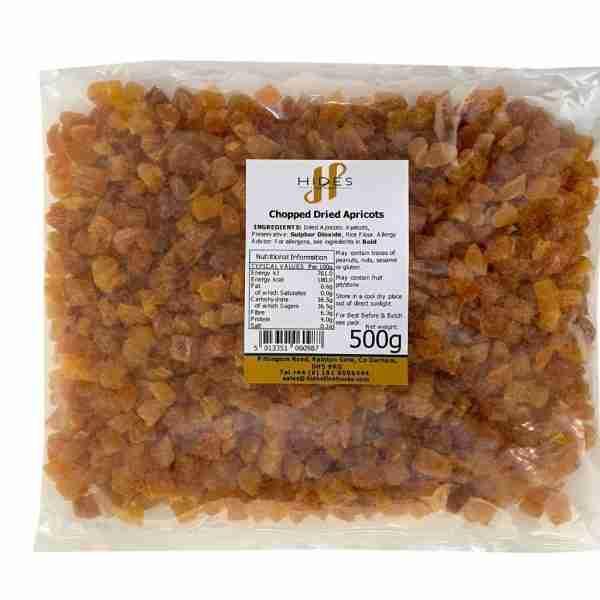 Chopped dried apricots 500g