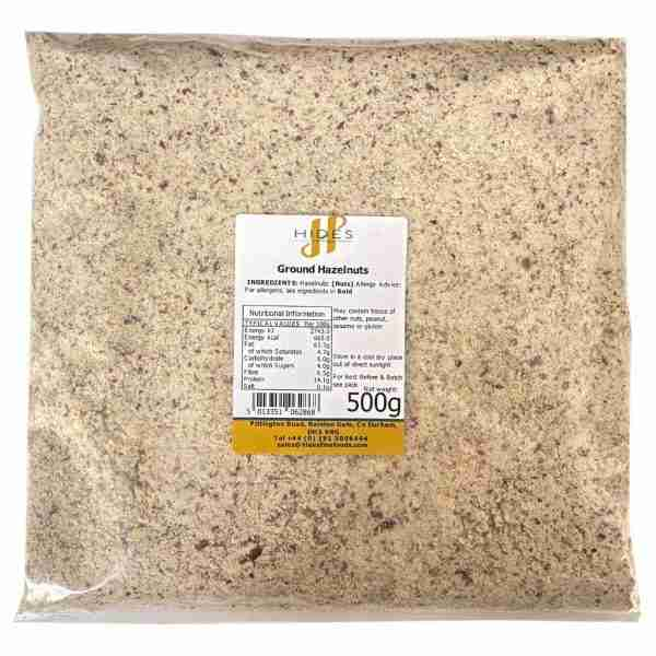 Ground hazelnuts 500g