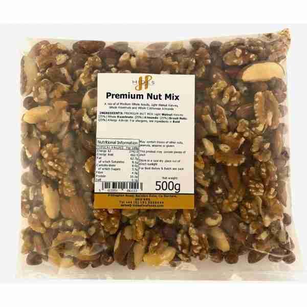 Premium nut mix 500g