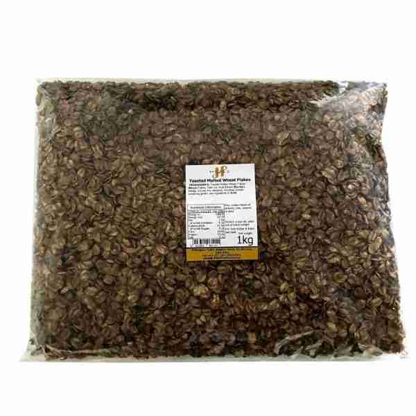 Toasted malted wheat flakes 1kg
